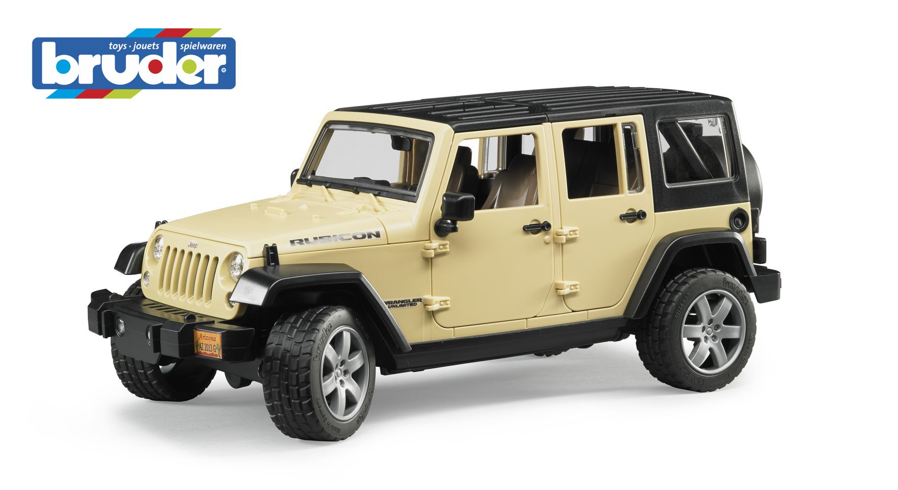 Bruder 2525 Jeep Wrangler Unlimited Rubicon