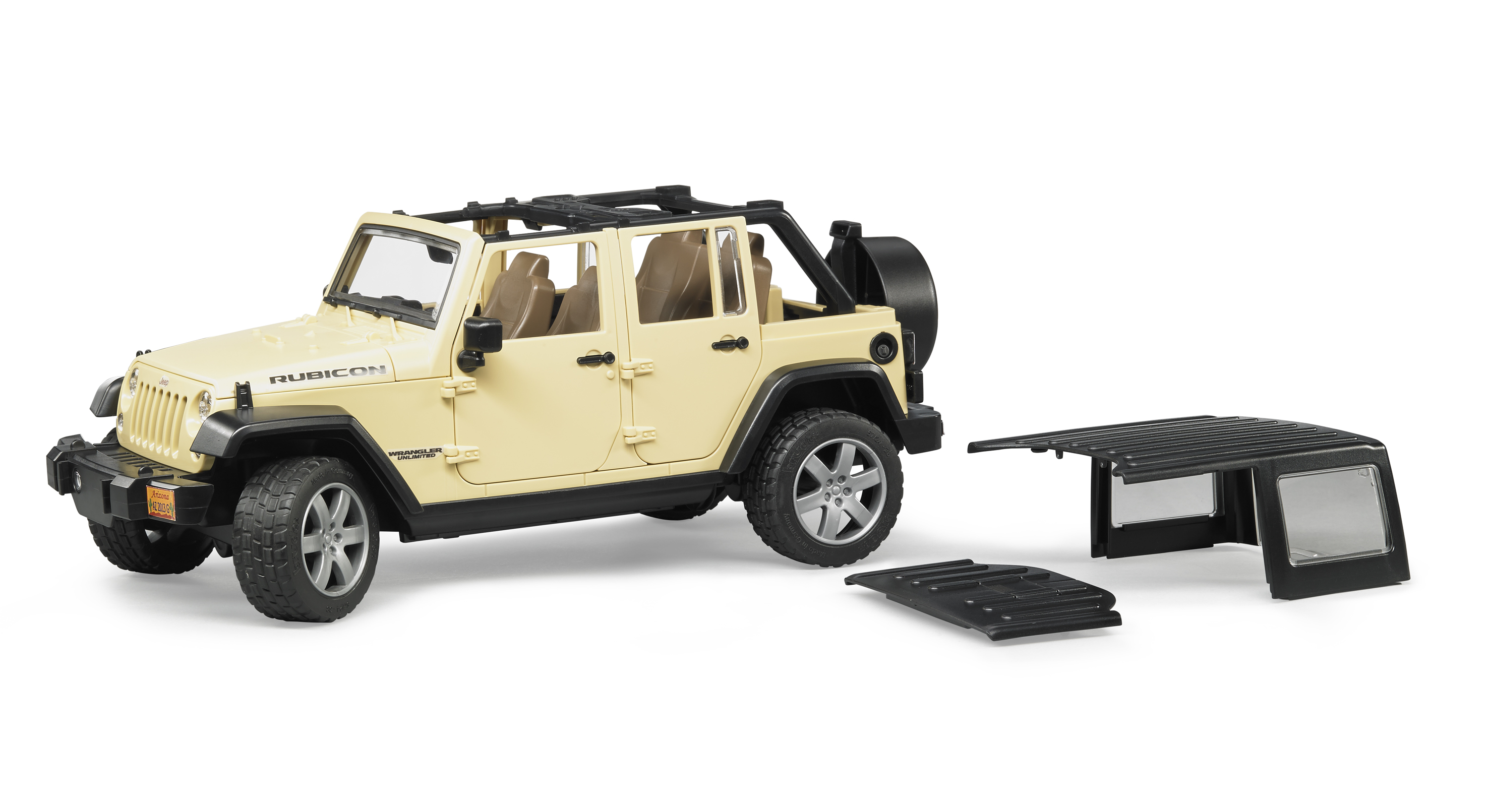 detail Bruder 2525 Jeep Wrangler Unlimited Rubicon
